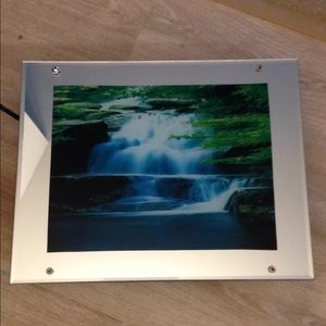 Vintage Waterfall Lighted Motion Mirror
